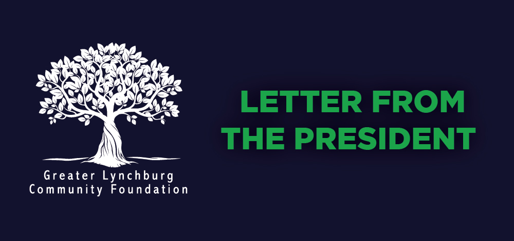 A Letter from Our President - April 2021